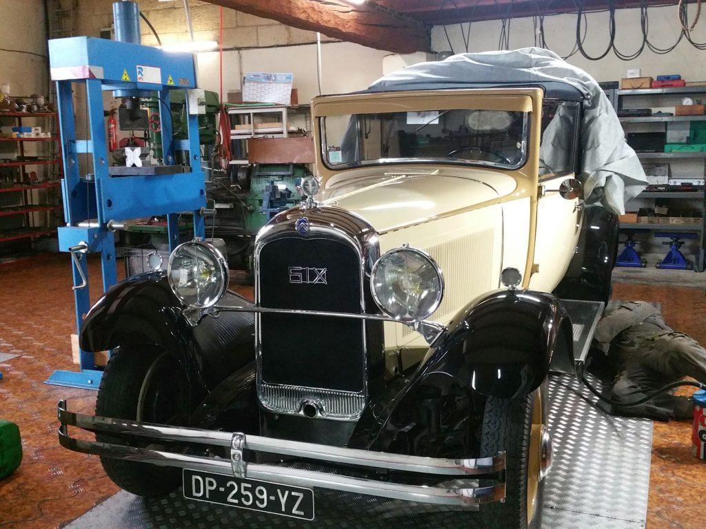 C6 1928 cabriolet